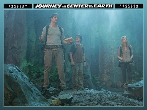 Journey to the Center of the Earth wallpaper with a pacific sardine titled Trevor and Sean Anderson and Hannah Ásgeirsson
