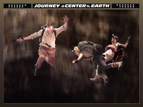 Journey to the Center of the Earth wallpaper entitled Trevor and Sean Anderson and Hannah Ásgeirsson