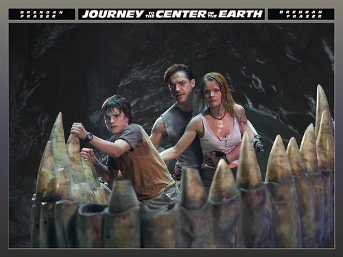 Journey to the Center of the Earth wallpaper possibly with a pacific sardine, a sign, and an abattoir called Trevor and Sean Anderson and Hannah Ásgeirsson