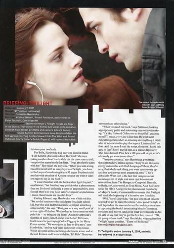 Twilight artikel from Empire UK