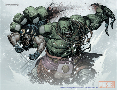 Ultimate Wolverine vs Ultimate Hulk