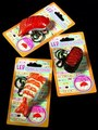 Unusual LED Flashlight Sushi Keychains