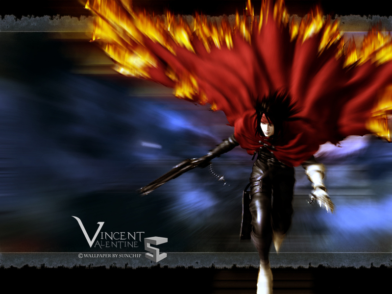 vincent valentine wallpaper. Vincent Valentine