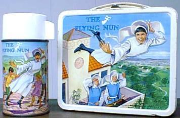 Lunch Boxes wallpaper called Vintage Flying Nun Lunch Box
