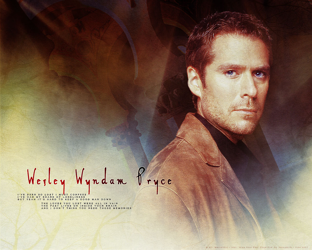 Alexis Denisof Wallpapers Wesley Alexis Denisof Wallpaper Fanpop