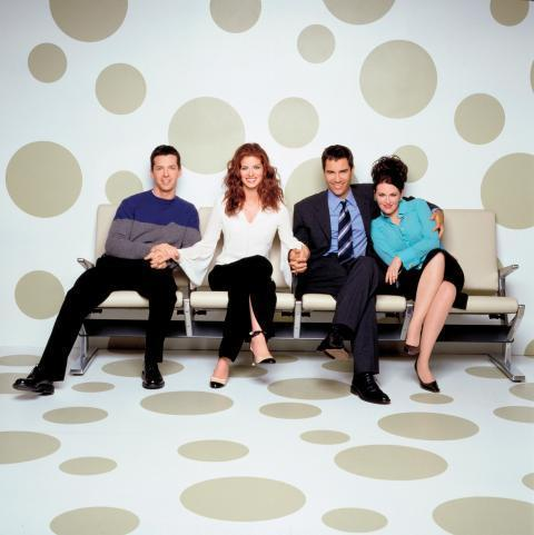 Will & Grace cast foto's