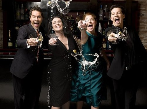 Will & Grace cast चित्रो