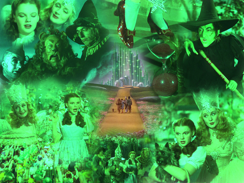 The Wizard of Oz wallpaper possibly containing a concert, a fountain, and a drummer titled Wizard Of Oz