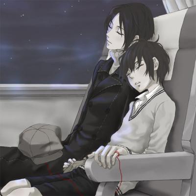 Yoite & Miharu - Nabari no Ou Fan Art (2211501) - Fanpop Nabari No Ou Yoite And Miharu Kiss