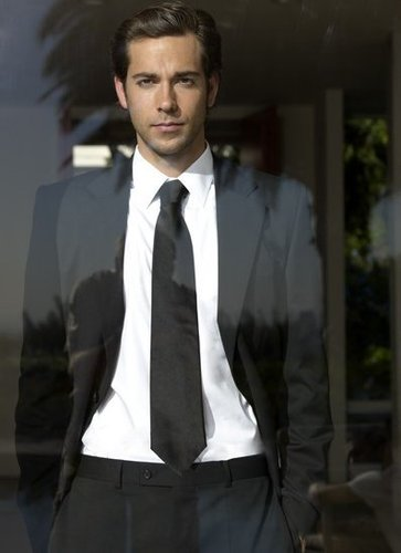 Zachary Levi wallpaper containing a business suit, a suit, and a three piece suit called Zach