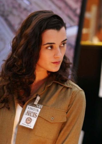 NCIS wolpeyper probably containing a green beret, a box coat, and a portrait entitled Ziva David