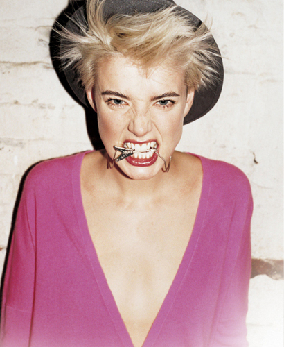 Agyness Deyn wallpaper with a portrait titled agy