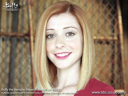 alyson as willow - alyson-hannigan Wallpaper