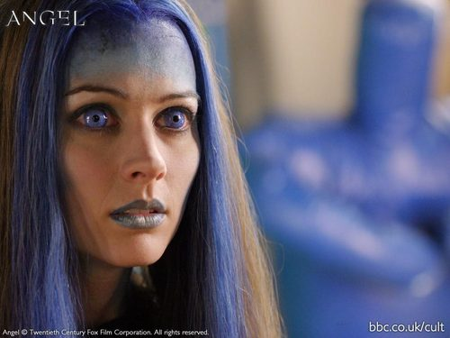 Amy Acker kertas dinding with a portrait called amy as illyria