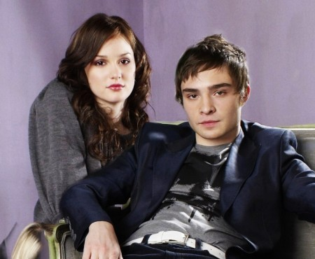 Blair & Chuck wallpaper containing a well dressed person and a business suit called blair and chuck