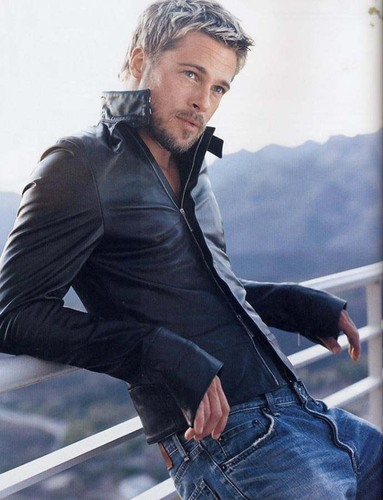 Brad Pitt wallpaper possibly containing a hip boot, a pantleg, and a well dressed person titled brad pitt <3