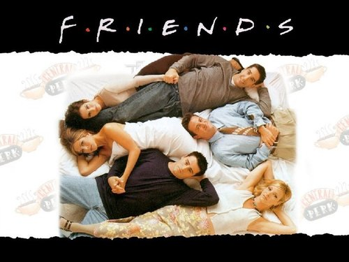Friends wallpaper possibly with a sign, a neonate, and skin entitled friends
