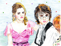 harry potter - hermione-grangers-men fan art