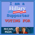 hillary supporter for McCain Palin - sarah-palin fan art