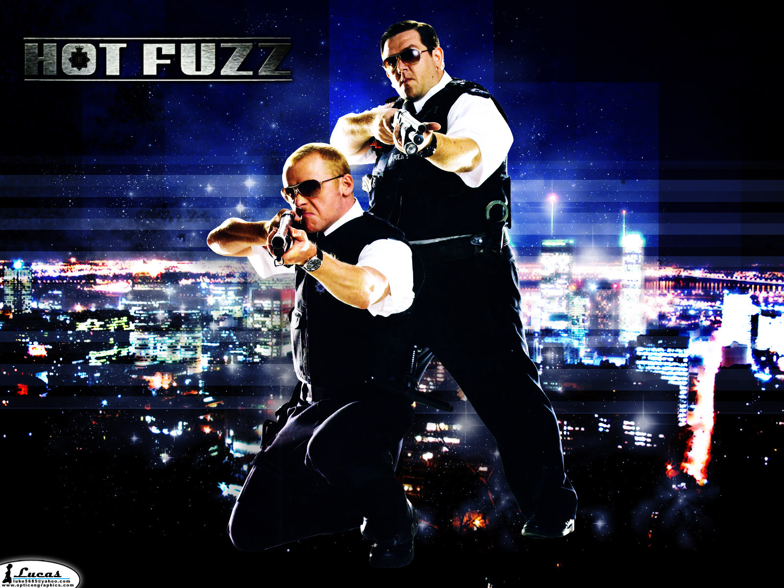 Hot Fuzz movies