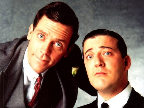 Jeeves and Wooster wallpaper containing a business suit, a suit, and a two piece entitled jeeves and wooster