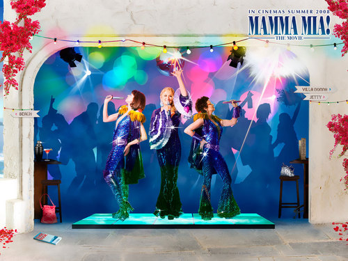 Mamma Mia! wallpaper possibly containing a concert called mamamia