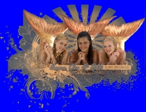 Mermaid h2o cleo