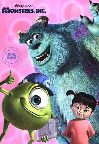 Movies wallpaper possibly containing anime entitled monster inc