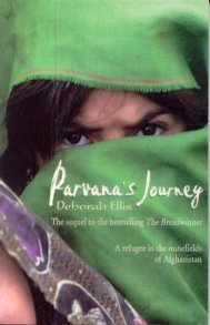 old book of parvana's journey.