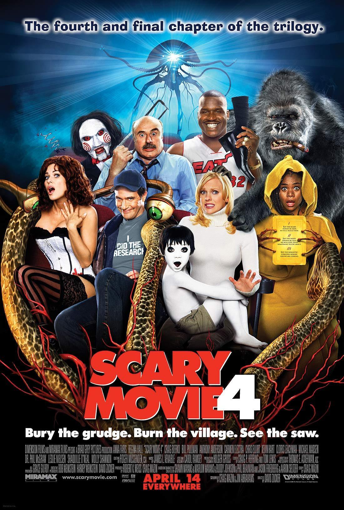 Movies scary movie four