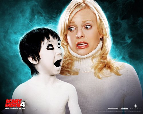 filmes wallpaper with a portrait titled scary movie four