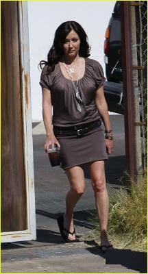 shannen on set 90210