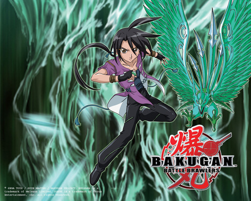 Bakugan Battle Brawlers wallpaper possibly containing a bouquet and a hippeastrum entitled shun