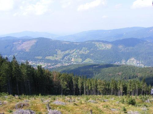 ski lift views