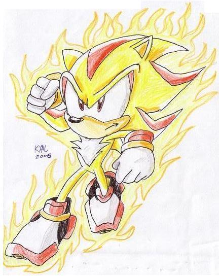 how to draw super shadow