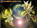 super sonic and super shadow - super-sonic-and-super-shadow wallpaper