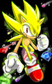 super sonic - super-sonic-and-super-shadow photo
