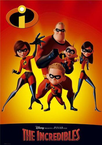 Filem kertas dinding containing Anime called the incredibles