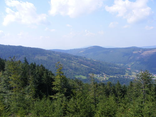 Просмотры from the moutains of wisla