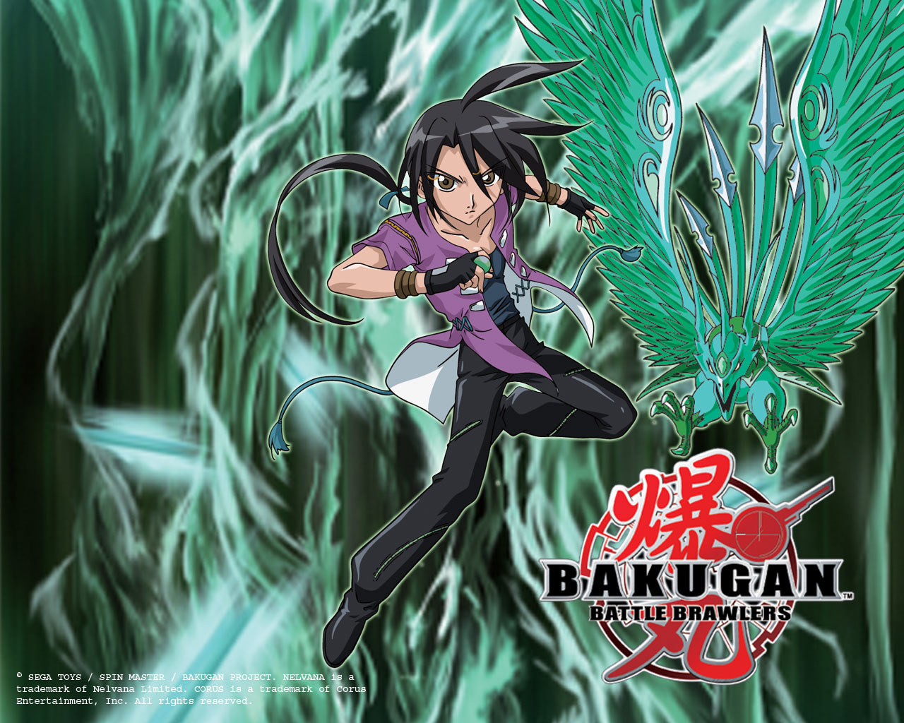 vivek - Bakugan Battle Brawlers 1280x1024