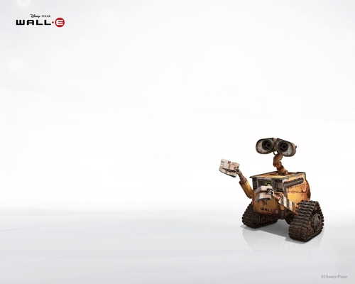 Film wallpaper entitled wall-e