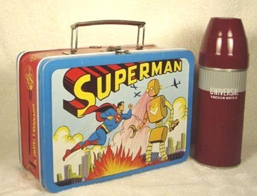 $4,649 Superman vintage lunch box