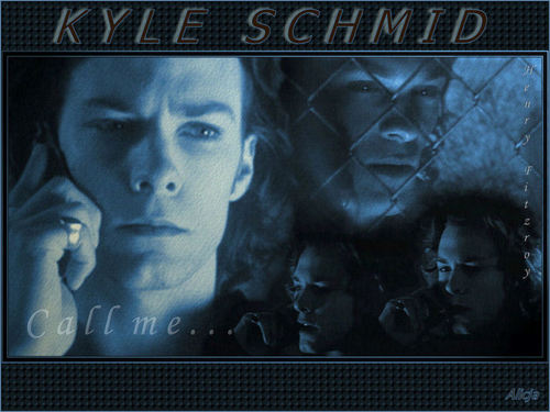 Kyle Schmid wallpaper probably containing a sign titled 02