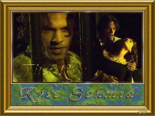 Kyle Schmid wallpaper possibly with a stained glass window and anime entitled 04