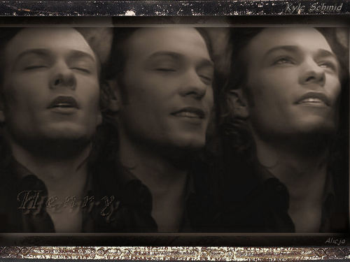 Kyle Schmid wallpaper possibly with a sign called 08