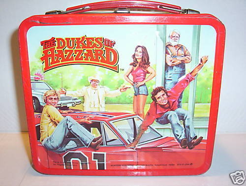 Lunch Boxes wallpaper called 1980 Dukes Of Hazzard lunch box