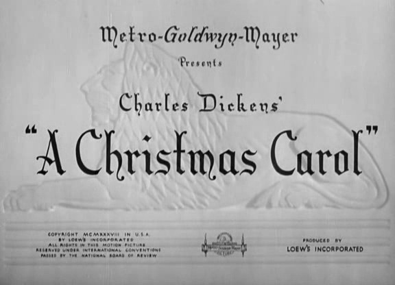 Christmas Carol movie title screen - Christmas Movies Photo (2393993 ...