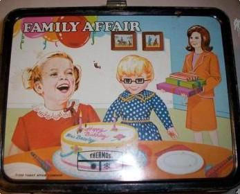 A Family Affair 1969 vintage lunchbox