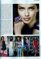 Adriana on the cover of The Best Shop - August