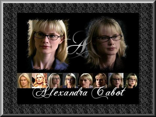 Law and Order SVU wallpaper titled Alex Cabot Wallpaper